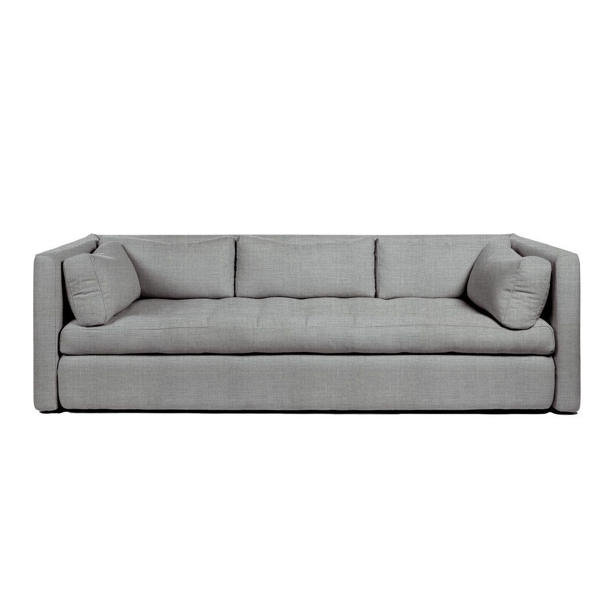 hay hackney sofa 3 sitzer remix 123 grau t 96 h 75 b 254 online kaufen bei decor sofa