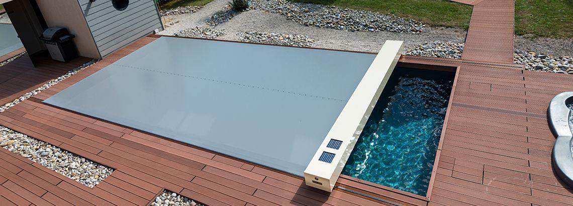 couverture piscine tendue 4 saisons abrisud coverseal - Couverture Piscine Tendue 4 Saisons