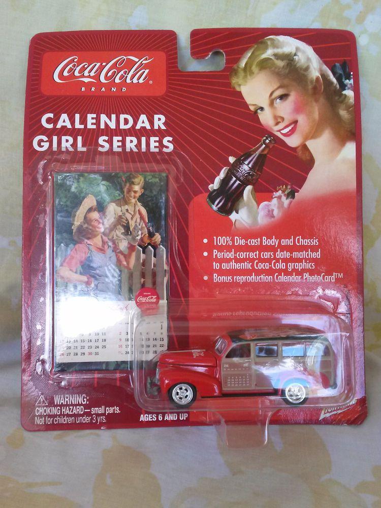 '41 CHEVY SPECIAL DELUXE WAGON - BEAUTIFUL COCA COLA CALENDAR GIRL SERIES - 1:64 #CocaCola #Chevy