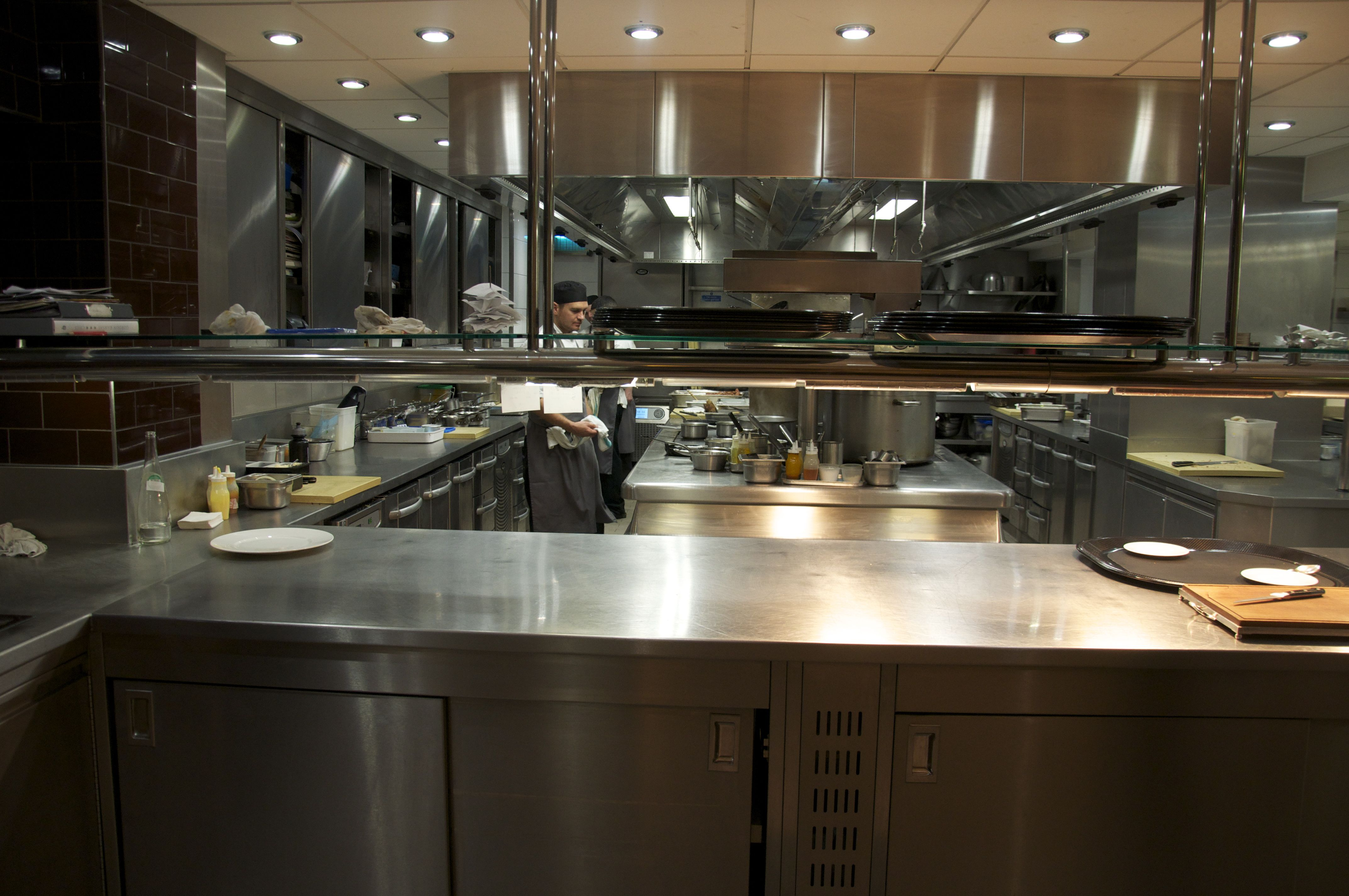 Petrus London Kitchen | Restaurant kitchen, Kitchens and Commercial ...