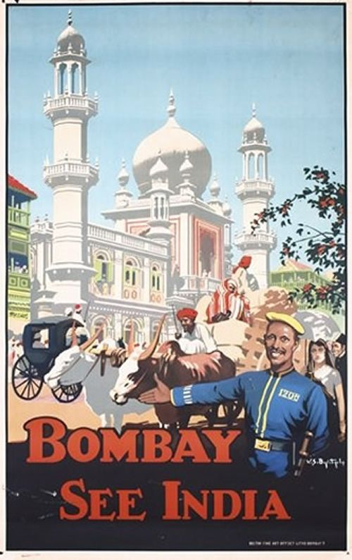 45x Vintage Travel Posters India   The Travel Tester