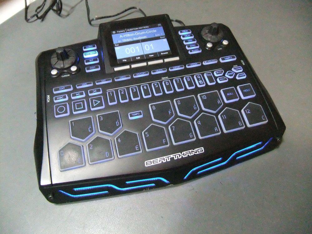 BKE Beat Thang Portable Electronic Drum Machine Sampler