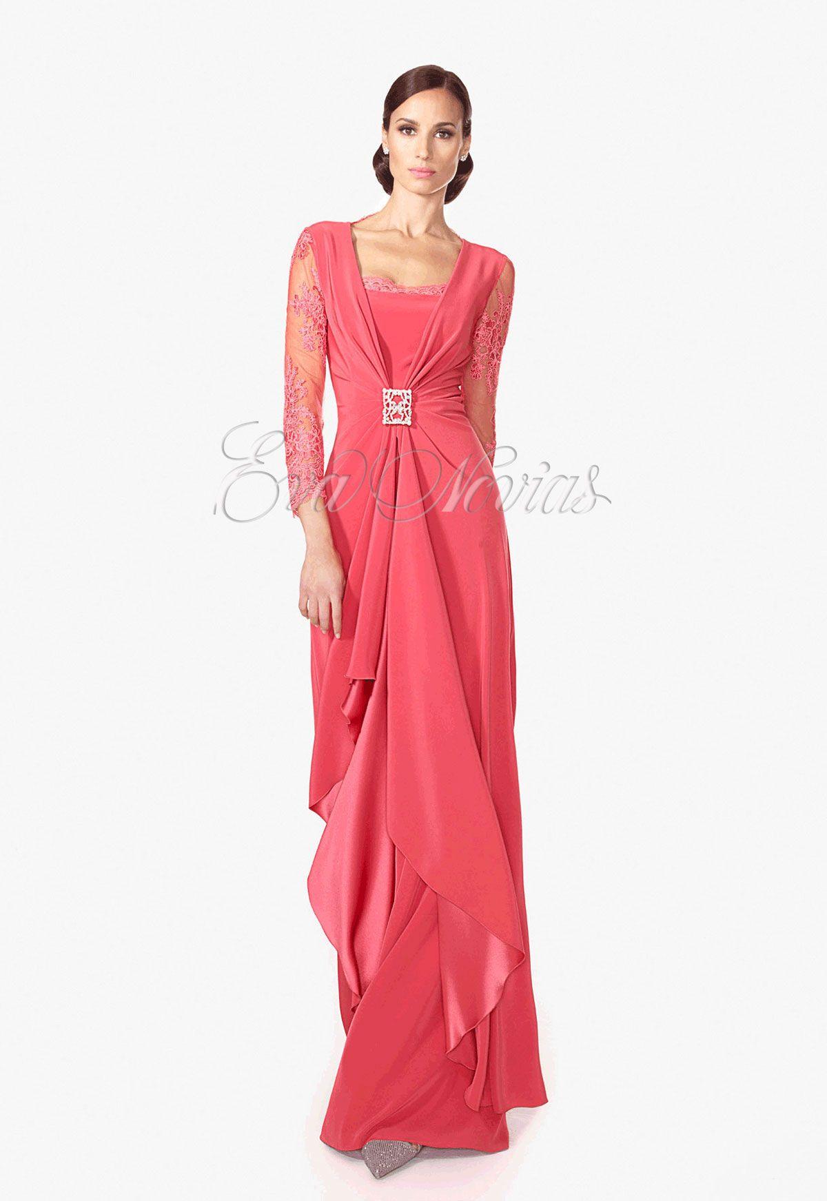 d65d2d78da Vestido de fiesta y madrina de Patricia Avendaño colección 2016 modelo 1958  en Eva Novias Madrid calle Goya