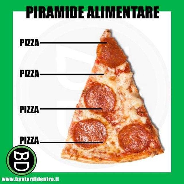 #bastardidentro #pizza #piramide #ipnoticamentebastardidentro www.bastardidentro.it