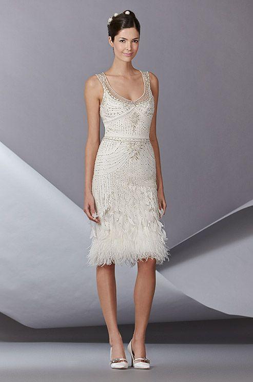 Love This Carolina Herrera Short Wedding Dress So Chic