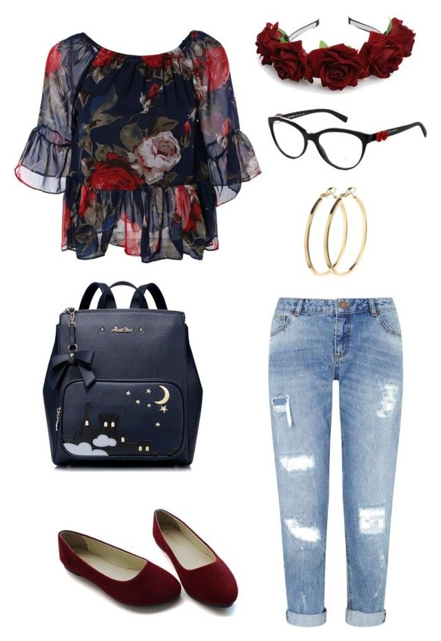 """Untitled #171"" by joymelody90 on Polyvore featuring Miss Selfridge, Dolce&Gabbana and Pieces"