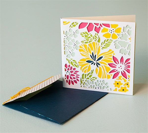 Lovely Layers Floral Card - Amazing #DIY card or Wall art made with ...