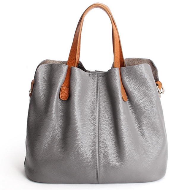 0bb9cb8888f8 Amor Soft Leather Tote in 2019