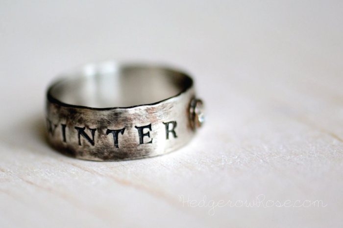 Game Of Thrones Winter Is Coming Ring Rings Game Of Thrones Winter Winter Is Coming