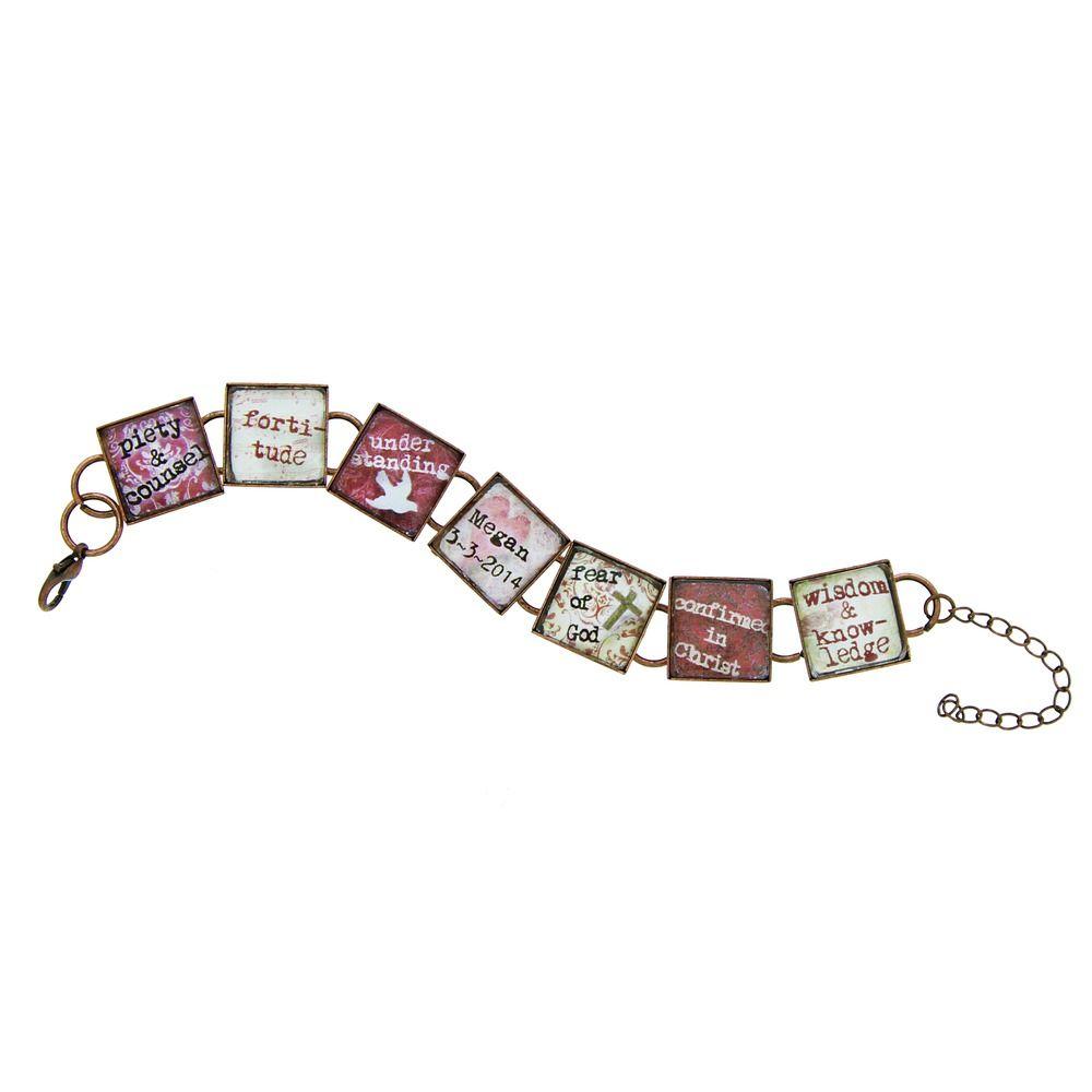Personalized Confirmation Bracelet, $27.95   The Catholic Company