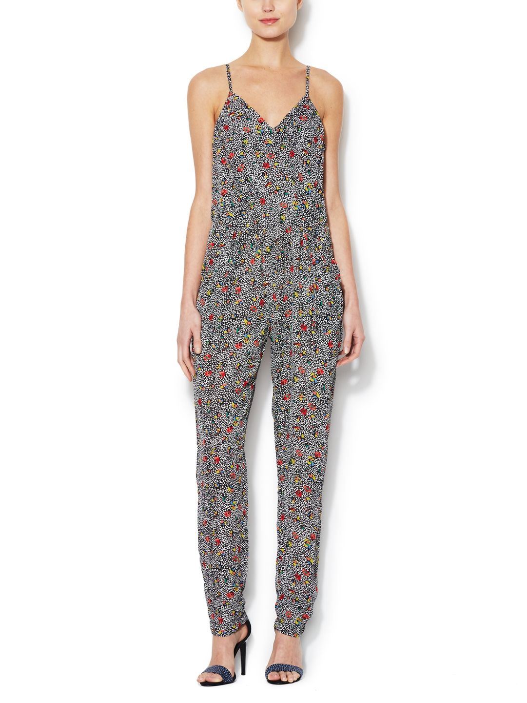 d2e341d7d9f Matilda Ditsy Jumpsuit by Greylin at Gilt...If I had good arms!