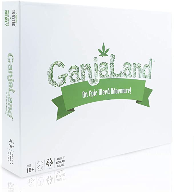 Amazon Com Ganjaland The Novelty Board Game That Will Take You On An Epic Adventure By What Do You Meme Toys Games What Do You Meme Card Games Epic