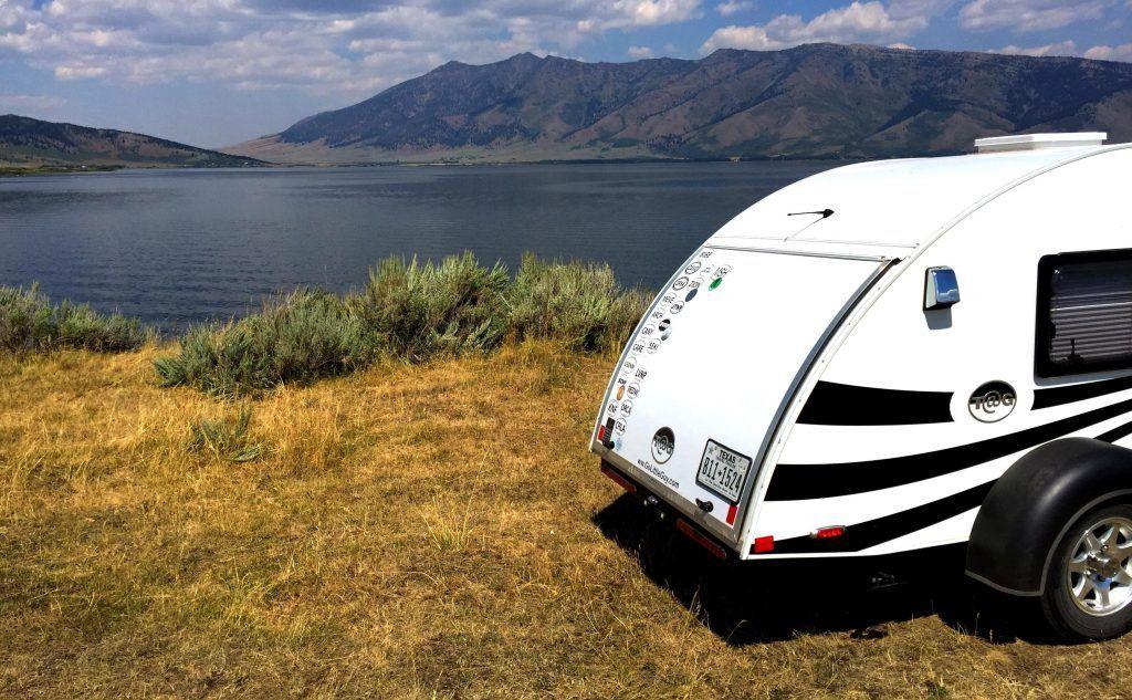 """Free Camping Near Yellowstone Idaho """"Slice o' heaven"""