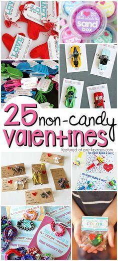 Non Candy Valentines For Kids Create Pinterest Kindergarten