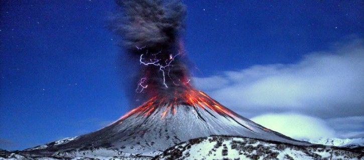 Kamchatka volcano eruption