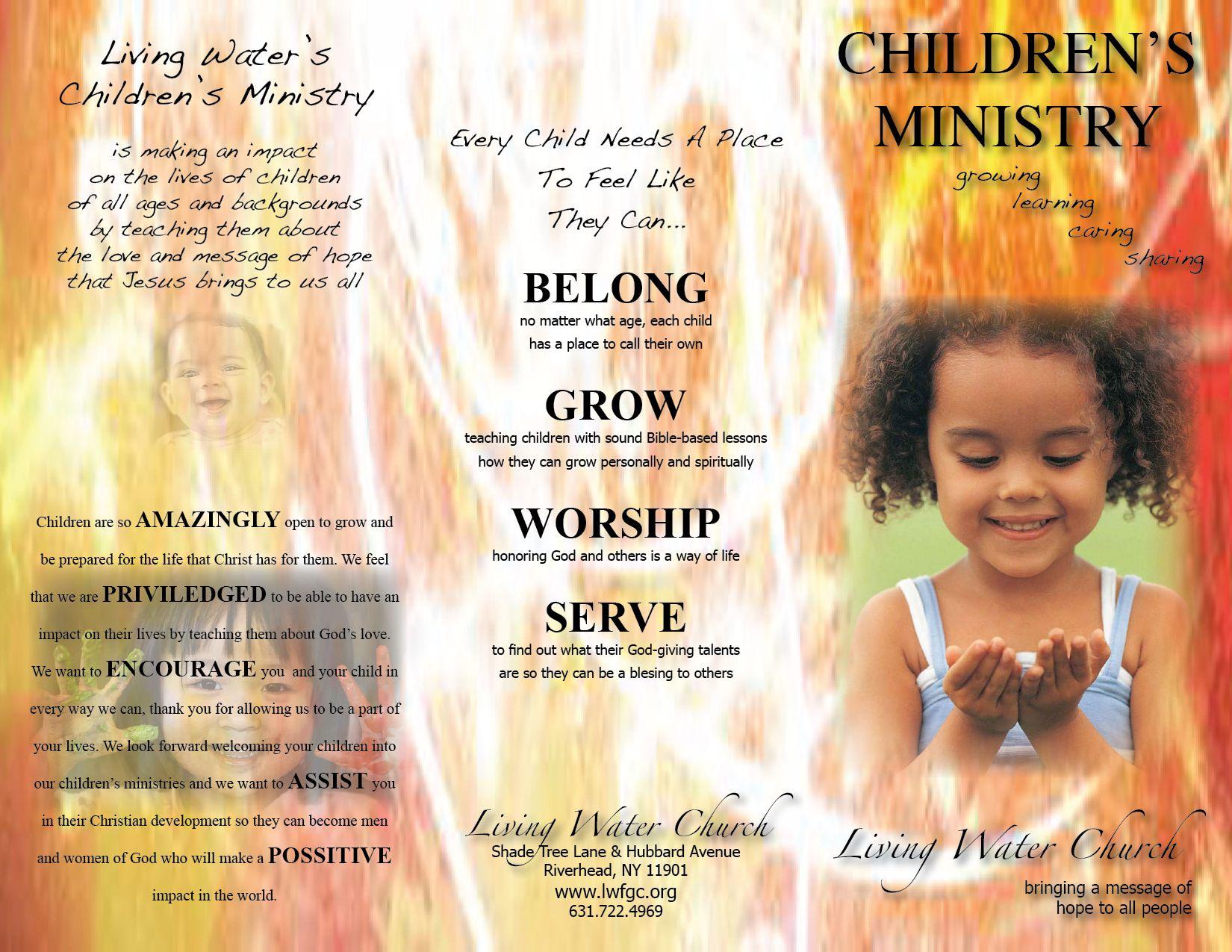 church pamphlet