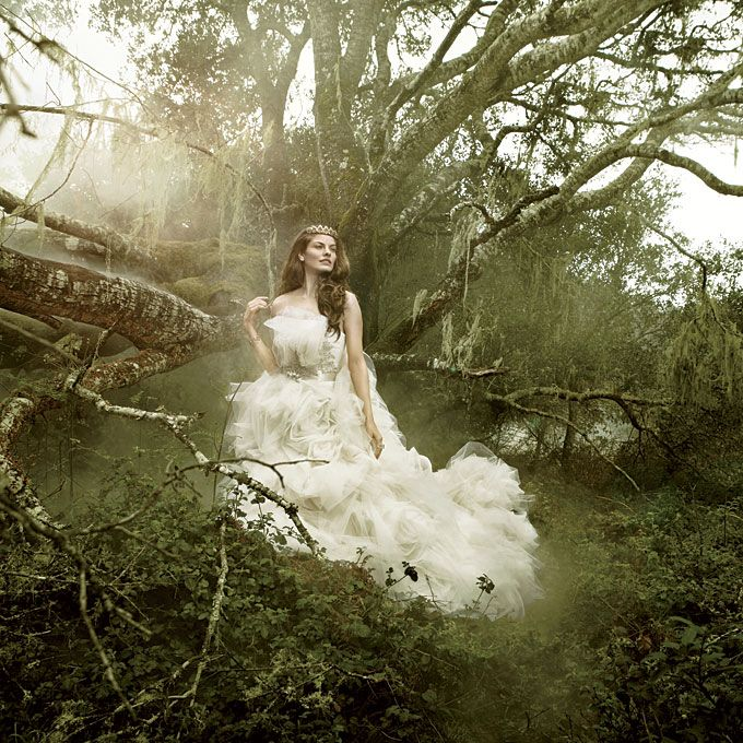 Brides ethereal romantic fairy tale wedding dresses for Romantic ethereal wedding dresses