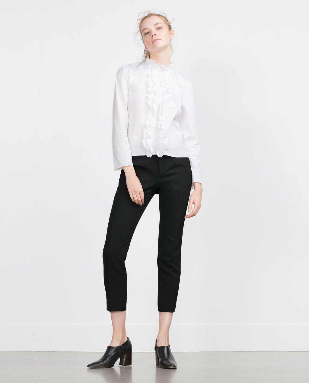 Pantalon Crep Pantalon Zara Mujer Mujer PitilloPantalones PitilloPantalones Crep Zara Zara Crep Mujer Pantalon BrdCoxe