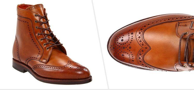 6e6e24fcc205 Broguing gives a more casual look  Allen Edmonds Dalton Boot ( Amazon )