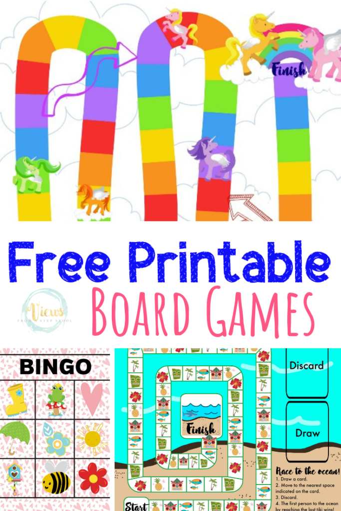 Free Printable Board Games for Kids images
