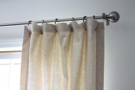 Como hacer cortinas para sala Hacer cortinas, Cortinas y Cortinas