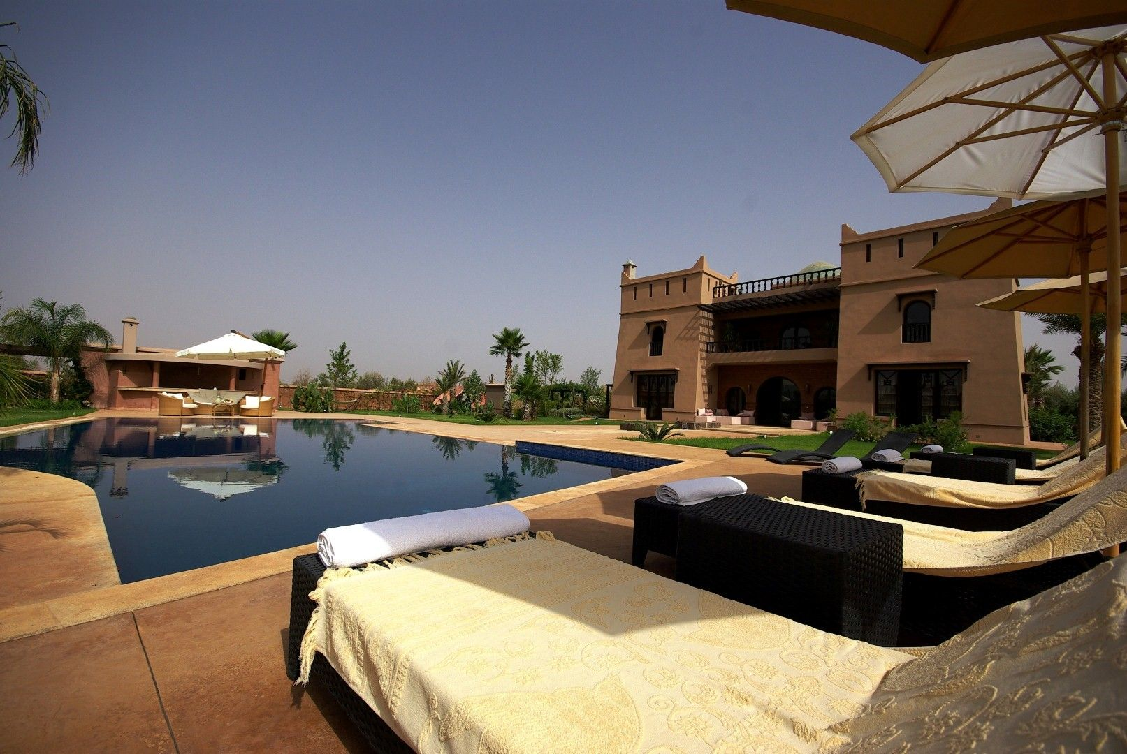 Villa r ve d 39 orient superbe villa louer marrakech - Location maison avec piscine marrakech ...