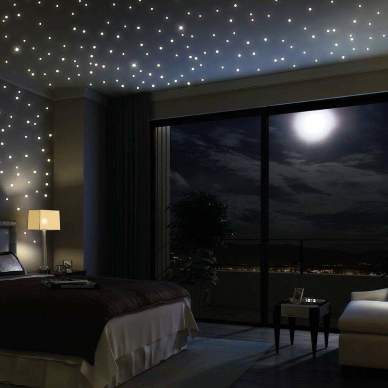 Fiber Optic Light Turn Your Bedroom Into A Starry Sky At