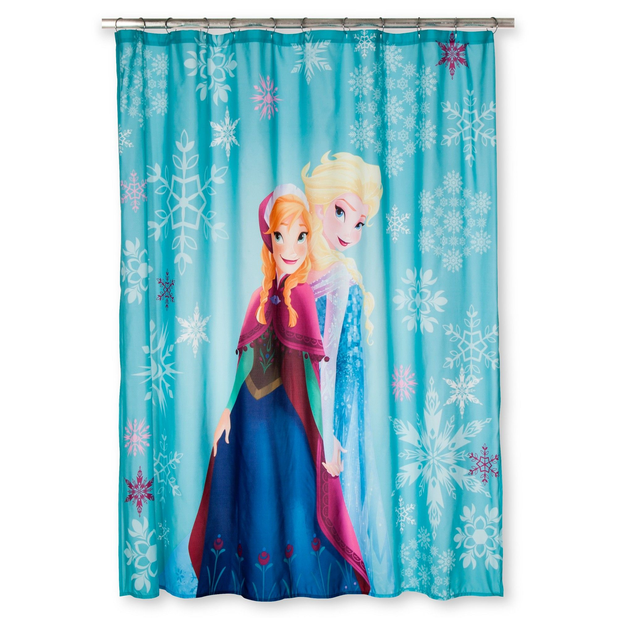 Frozen Bathroom Disney Frozen Anna Elsa Shower Curtain Blue Products Anna