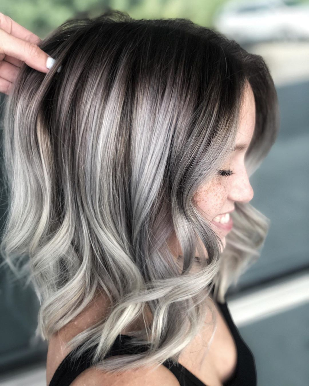9+ Silver Hair Color Ideas & Trends Highlights, Styles and More ...