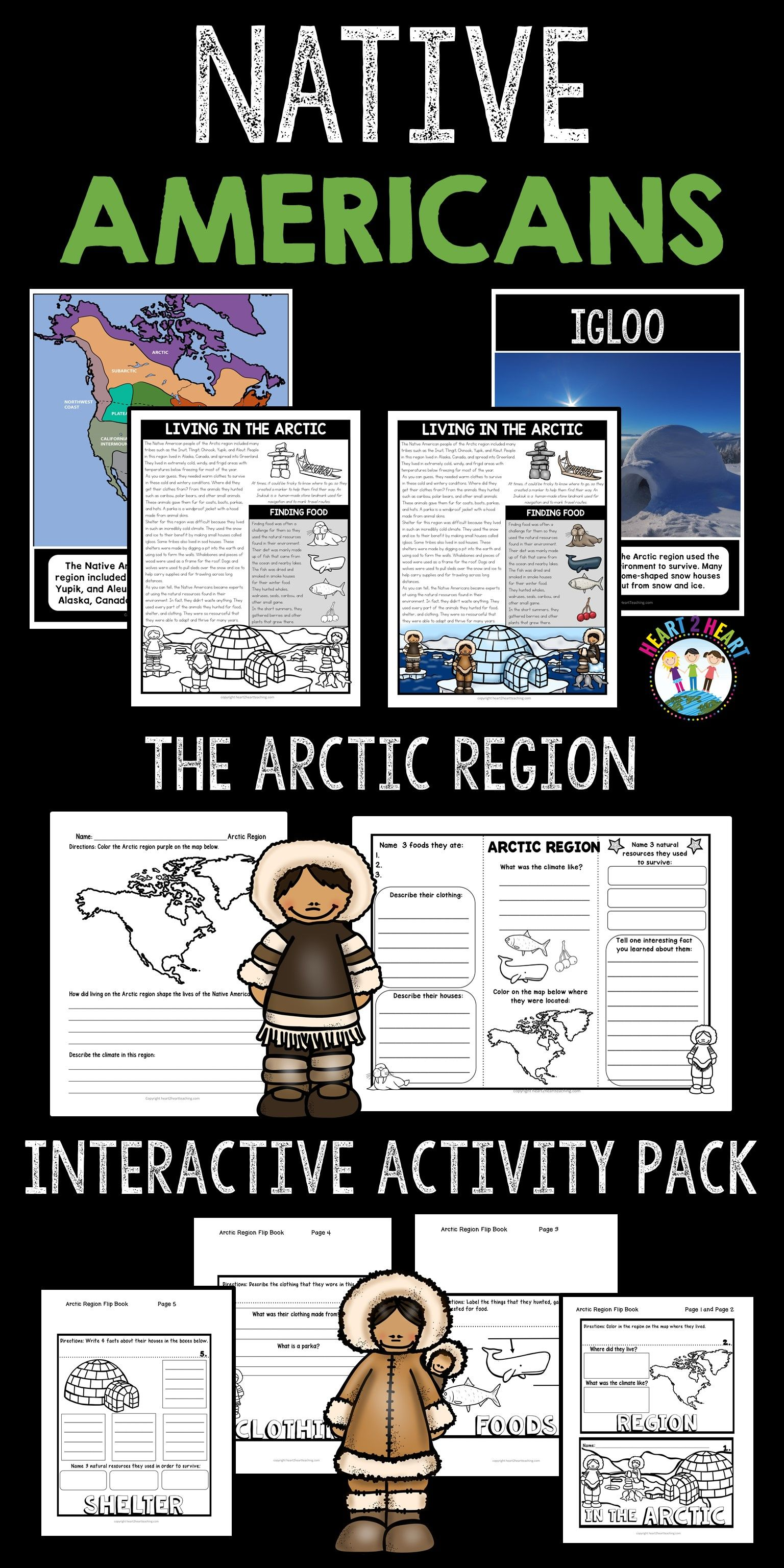 Native Americans That Lived In The Arctic Region