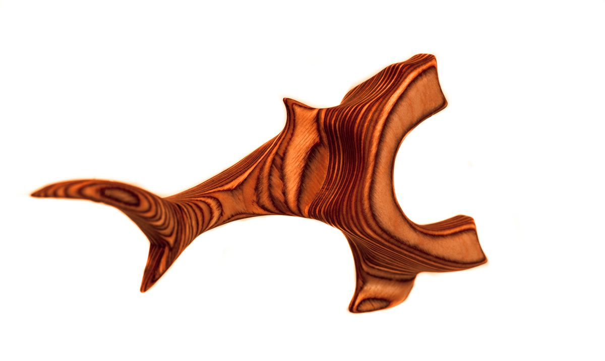 Plywood-Break No. 4 (Ergo Shark) - Show off your homemades!