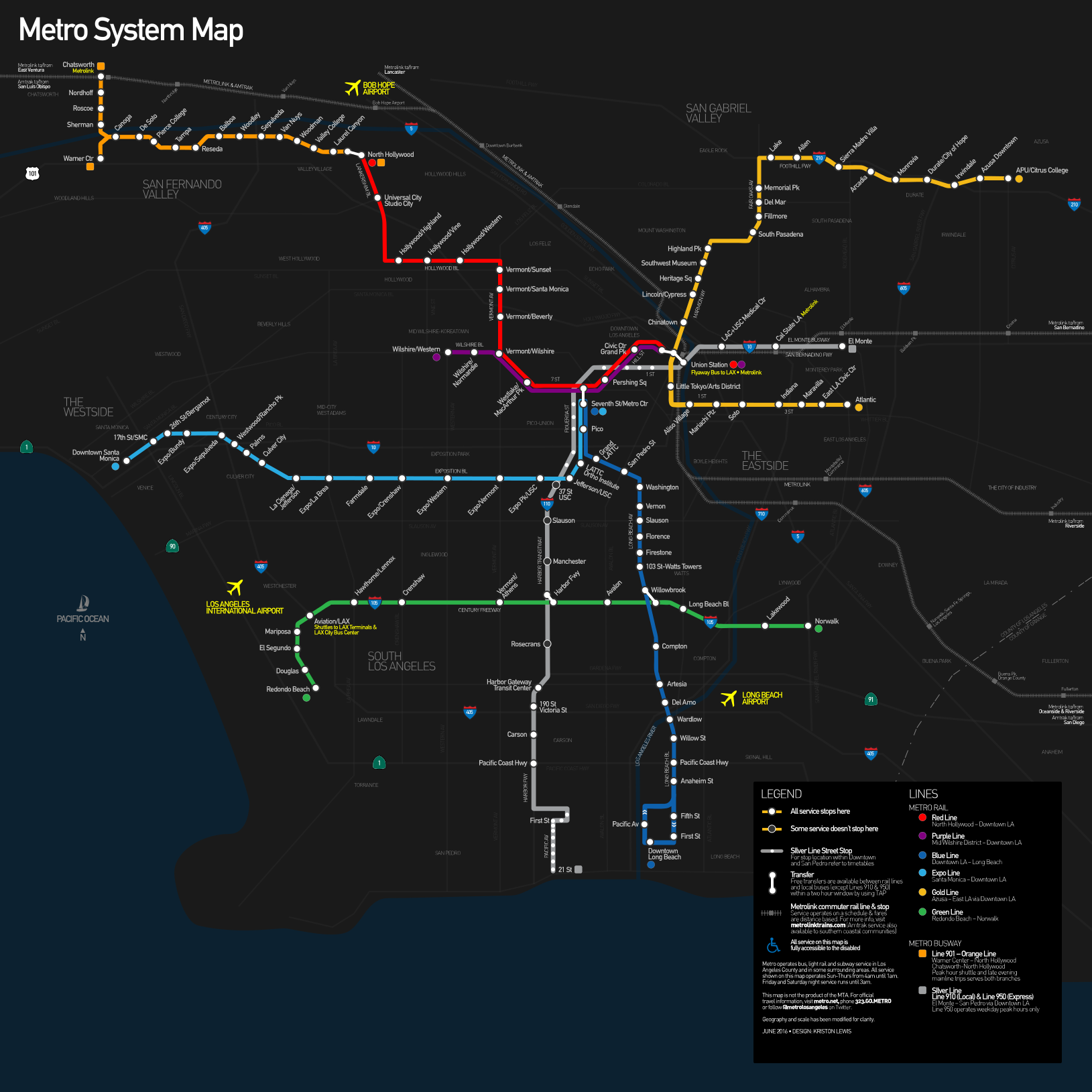 Los Angeles County Metro Rail And Metro Liner Map Los Angeles County Metropolitan Tran Metro Rail Los Angeles Metro Map Metropolitan Transportation Authority
