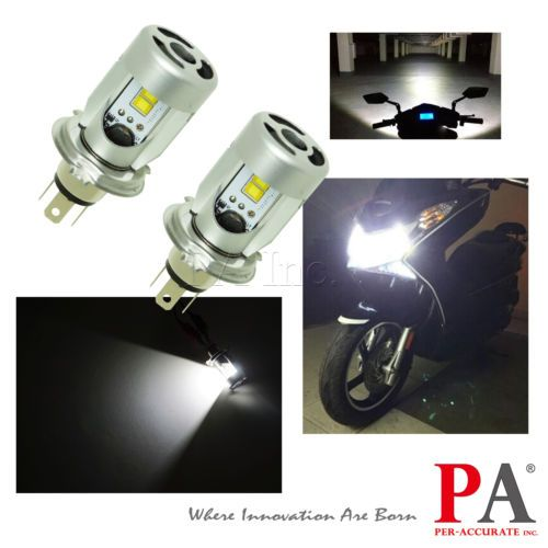 2x 24v Truck H4 P43t 25w 2800lm Philips Led Chip High Low Beam Headlight Yellow Headlight Bulbs Philips Led Led Headlights