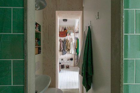 Stockholm apartment by karin matz architect case stoccolma bagno