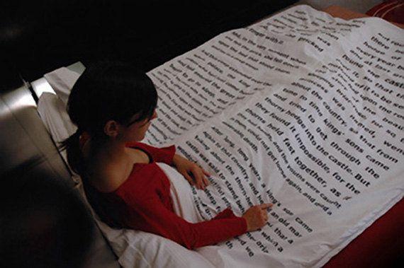 Ciò voglia di leggere a letto