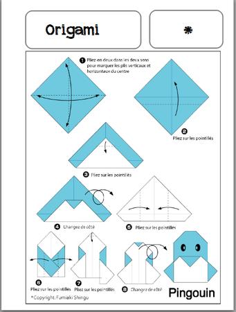 Fiches autonomes origami - De deux choses l'une...   Origami vis vouwen, Origami vis, Origami