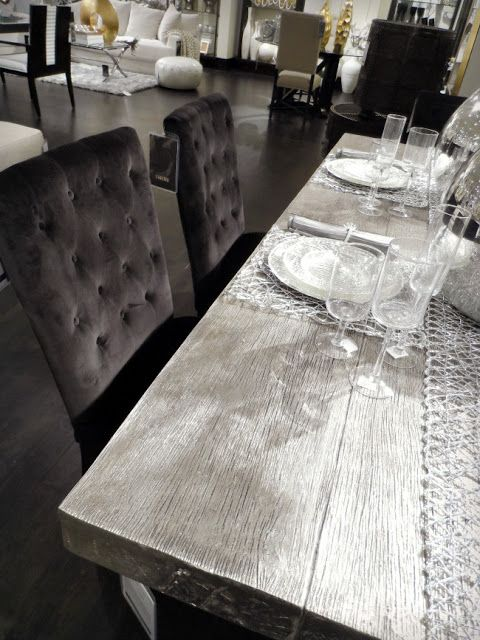 Z Gallerie Scottsdale Reopening Store Tour Grey Dining