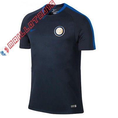 Les maillots du Inter | Nouveau maillot de foot Training Inter 2016 noir