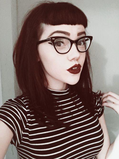 Bettie Bangs Tumblr Beauty Goth