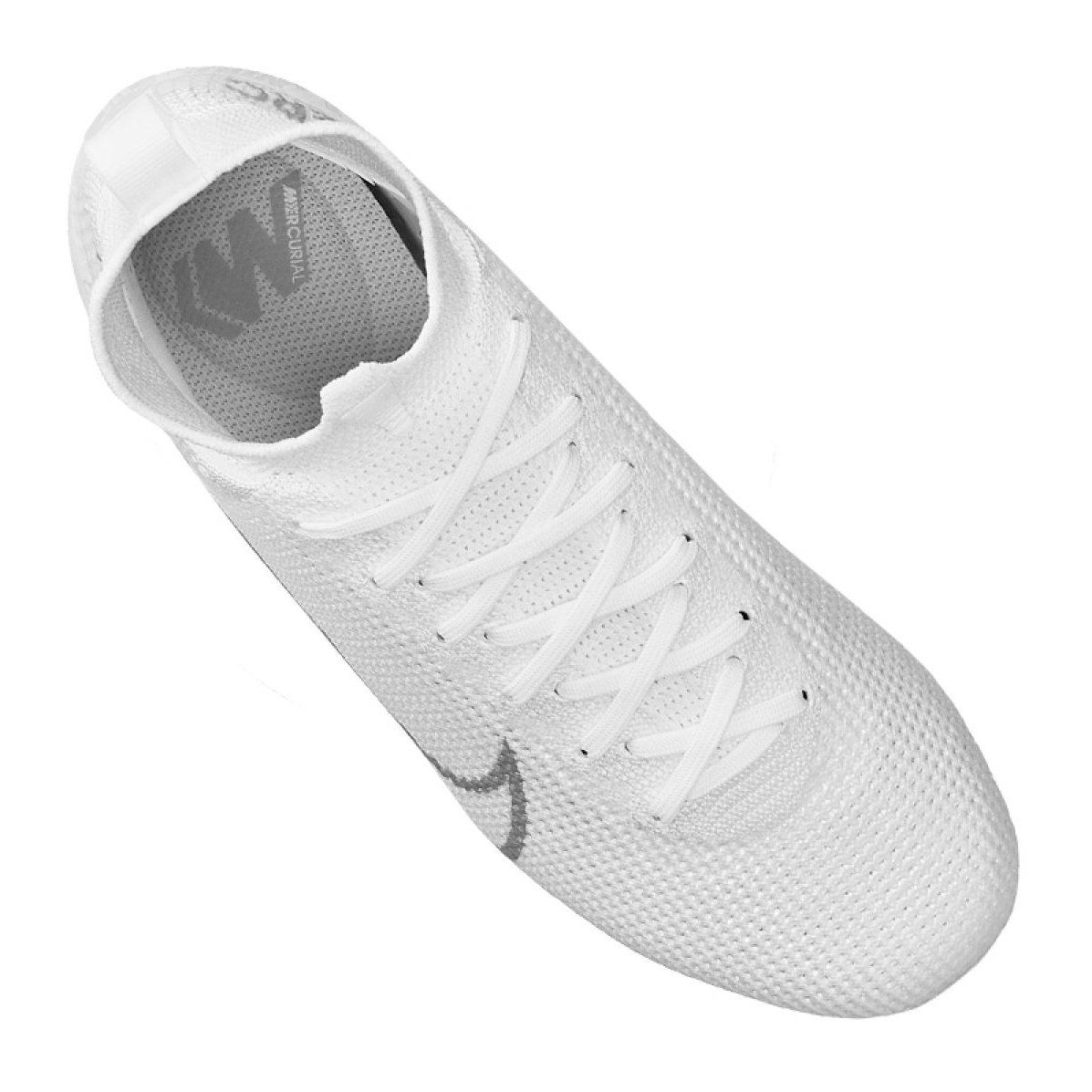 Buty Pilkarskie Nike Superfly 7 Elite Fg Jr At8034 100 Biale Biale Football Shoes Superfly Sprint Shoes