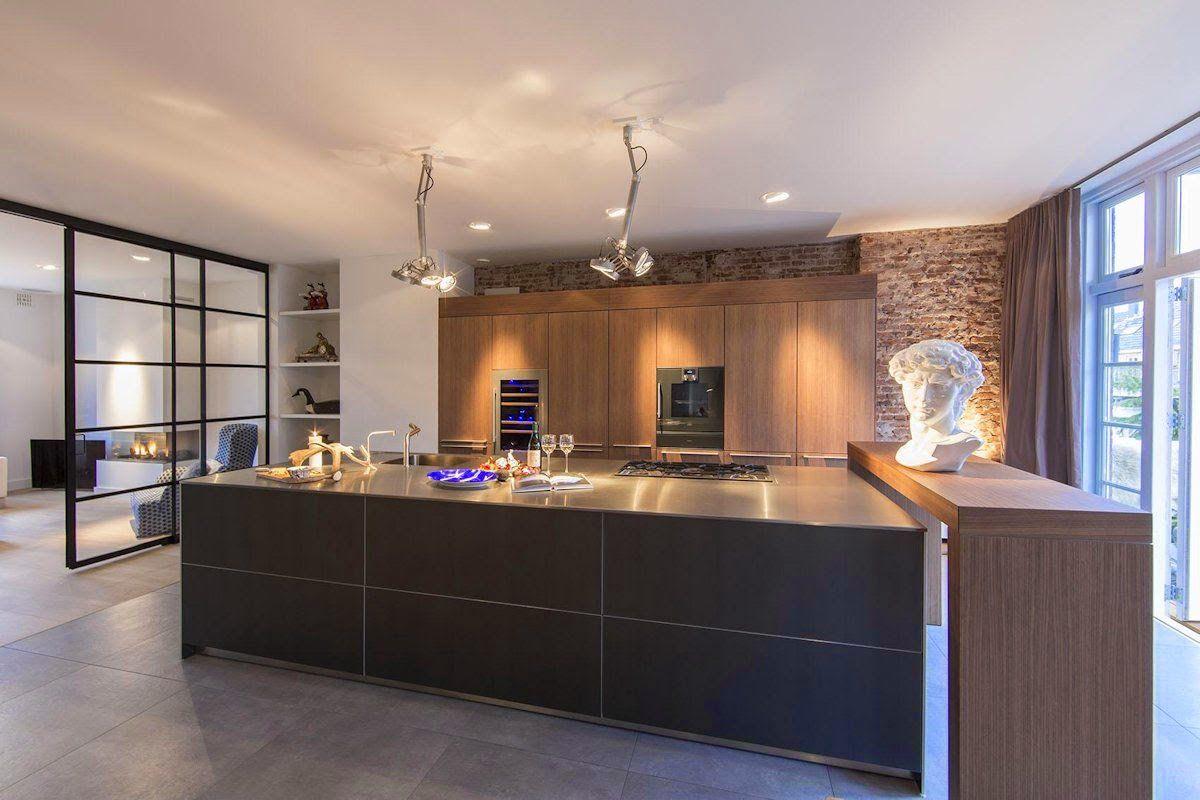 100 idee di cucine moderne con elementi in legno | Interiors and House