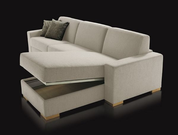 Sectional Sofa Bed   Storage Space Under The Bed