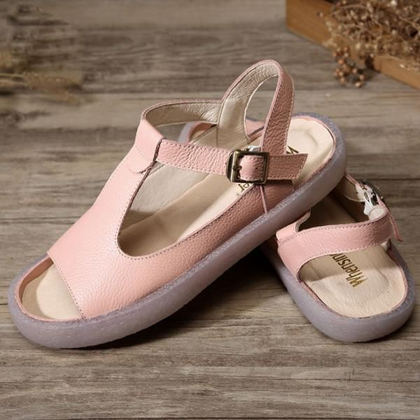 Summer Flat Heel Cow Leather Shoes Portable Pink Sandals is part of Pink sandals, Leather shoes woman, Womens shoes wedges, Casual shoes women, Flat shoes women, Cow leather -  FEDEX shipping for order over $180  About the order below $180, The charge standard of the express shipping method you choose is as follow Customs And Import Duty In general,there only be a small number of countries need to clear customs if unfortunately,your order need to clear customs tax,and you need to make a payment again,please contact with us directly first We will do our best to solve the matter for you,please do not worry about it  Customers Service For more shipping information, you could contact us by leaving a message  We will get back to you in 24 hours  Any delivery dates provided by Babakud are estimates  We will send you an email when your order has shipped and you may review your order and shipping & handling information on your Babakud account if you have registered