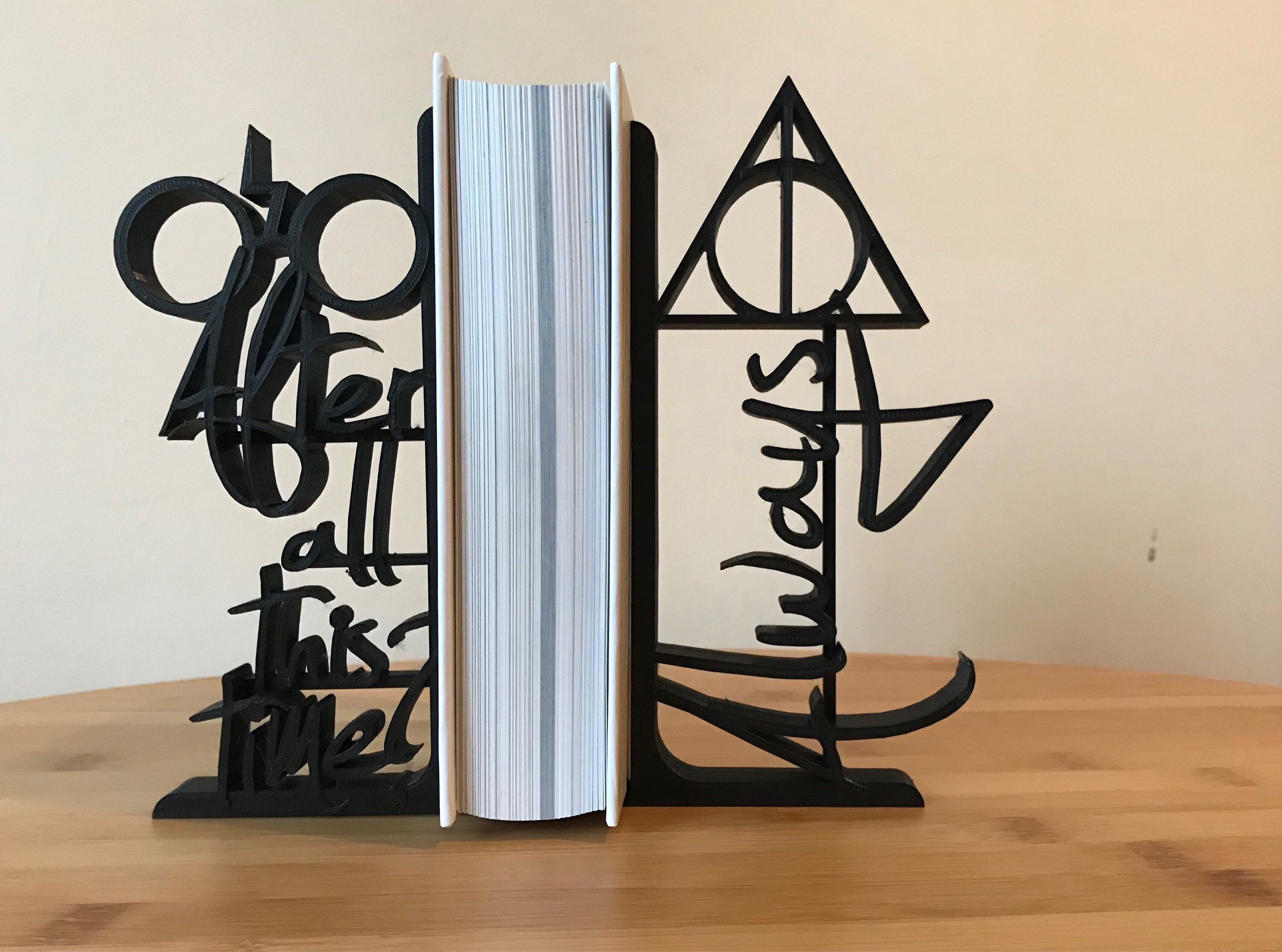 Harry Potter 3d Printed Decorative Bookends After All This Time
