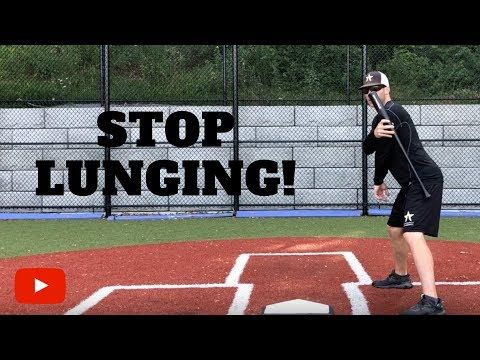 Photo of How to Stop Lunging in your Baseball Swing