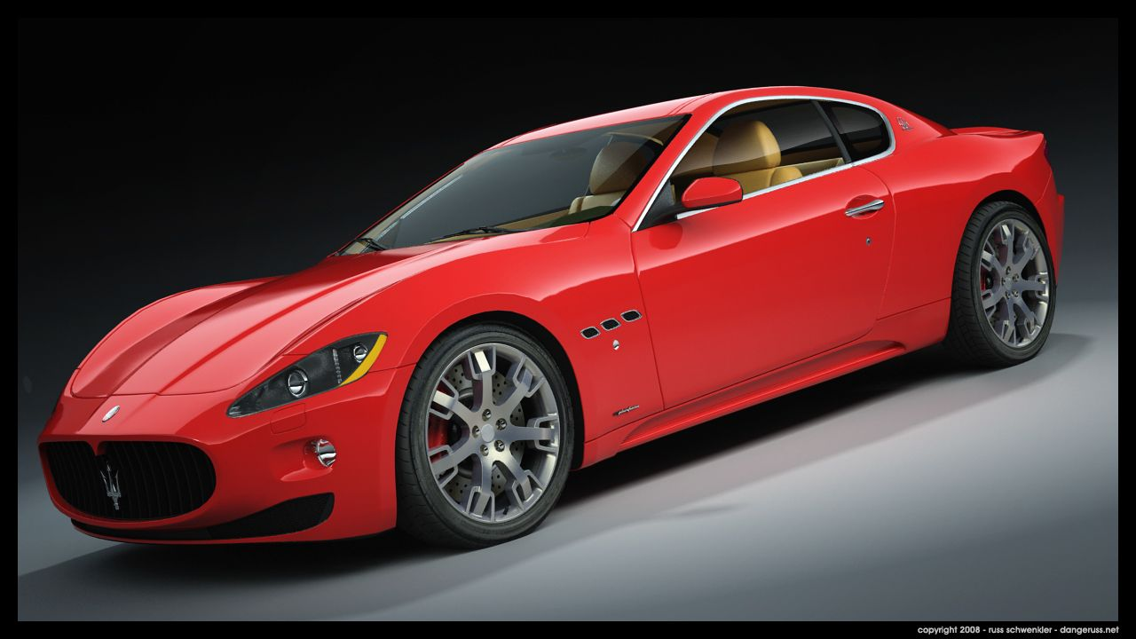 Red Maserati Fast Cars Expensive Cars Sports Cars Race Cars