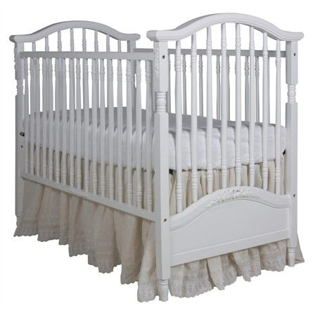 AFK's mission is to create the world's finest furnishings for children. The Arabella Crib in Linen is no exception!
