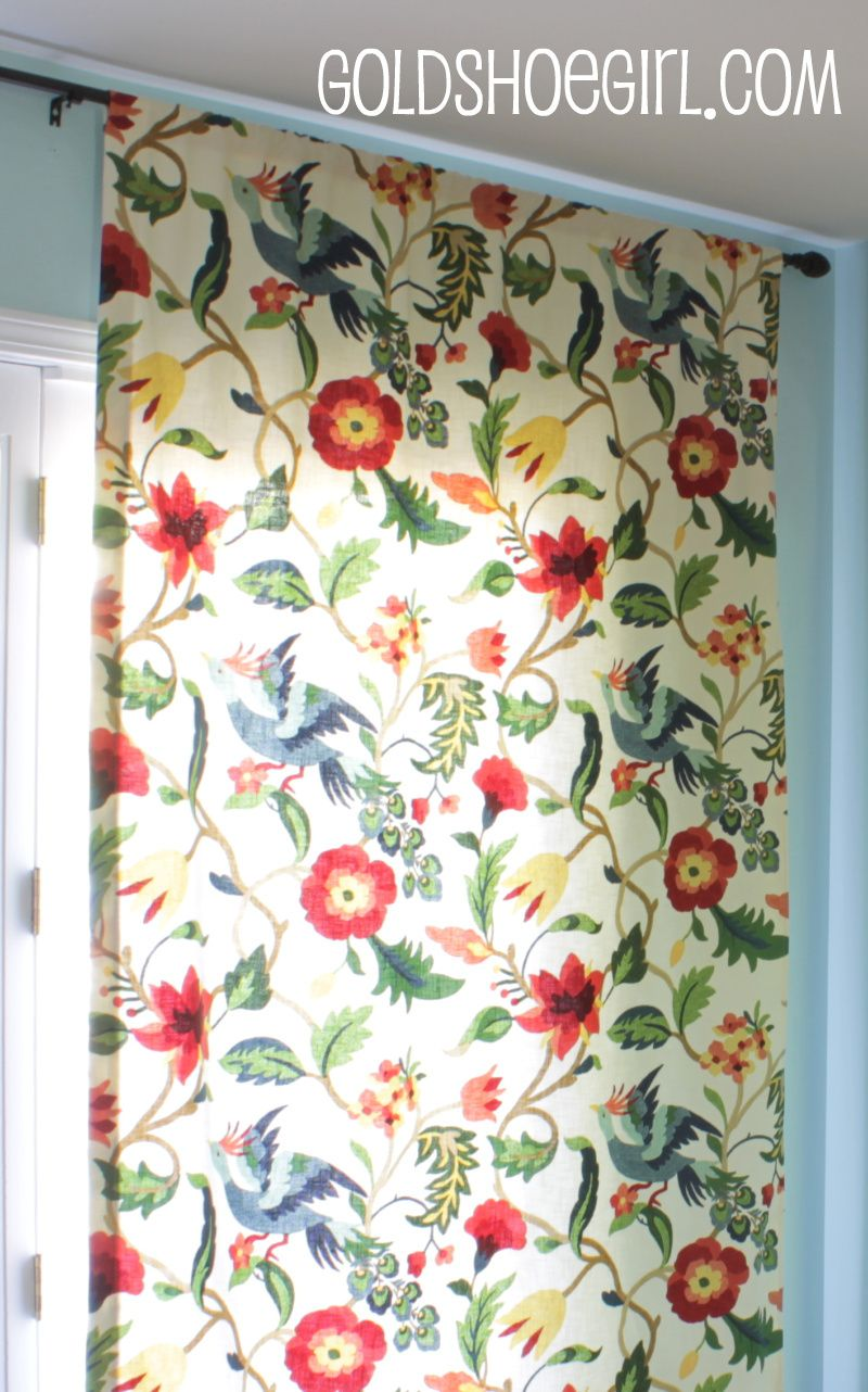 Richloom Lucy Eden Fabric For Kitchen Roman Shade
