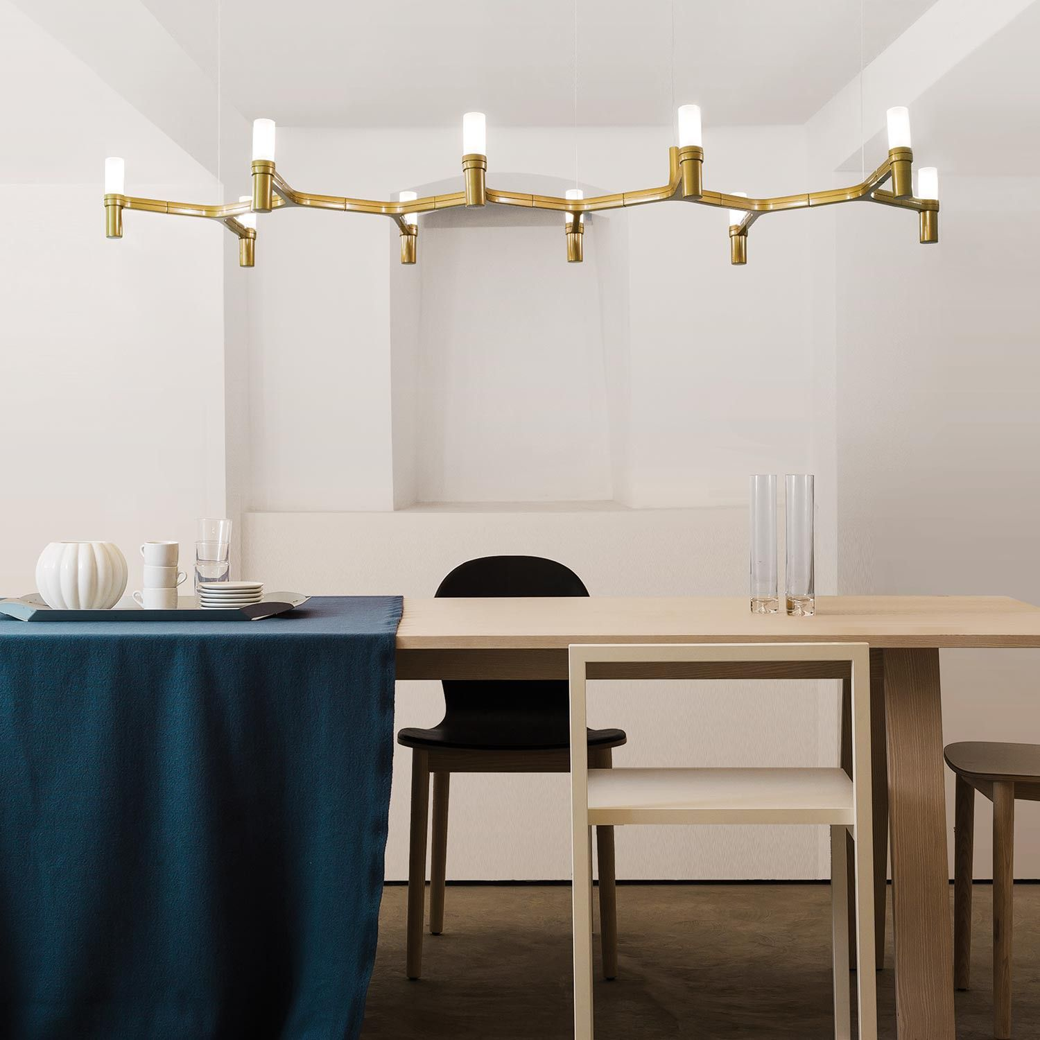 Crown Plana Linear Pendant designed by Jehs and Laub is a