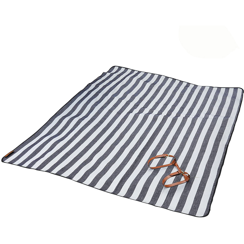 Custom Logo Print New Design Outdoor Picnic Rug Fleece Foldable Picnic Waterproof Blanket Mat With Large Picnic Blanket Down Camping Blanket Waterproof Blanket